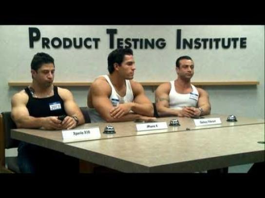 Sony Ericsson Film Ad -  Product Testing Institute, Guidos