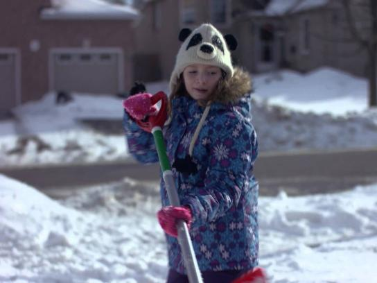 Canadian Tire Digital Ad -  Shovel it forward