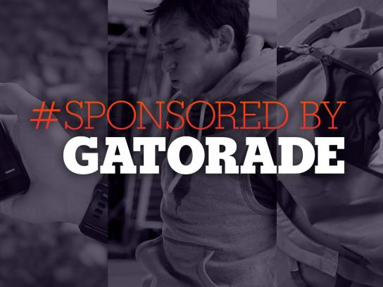 Gatorade Ambient Ad -  Sponsored by Gatorade