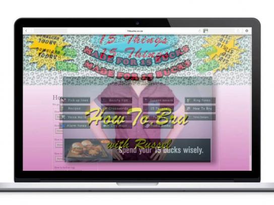 Chicken Licken Digital Ad -  15 Bucks Integrated Campaign