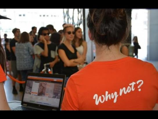 EasyJet Experiential Ad - Ready to take-off immediately?