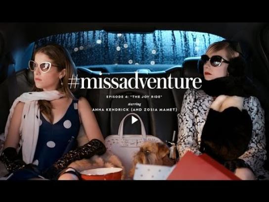 Kate Spade Digital Ad -  Miss Adventure - The joy ride