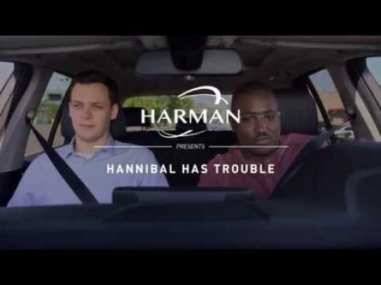 Harman Film Ad - Hannibal has trouble