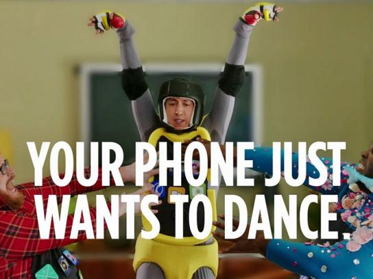 Ubisoft Film Ad -  Your phone just wants to dance