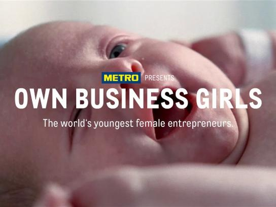 Metro Film Ad - Own Business Girls