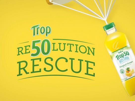 Tropicana Digital Ad -  @Unamcbreen's Trop50 Resolution Rescue