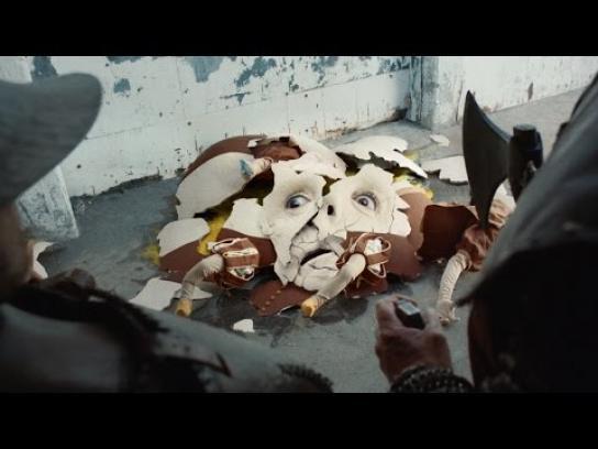 TurboTax Film Ad - Humpty Fall