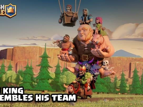 Supercell Film Ad - The Red King's New Team