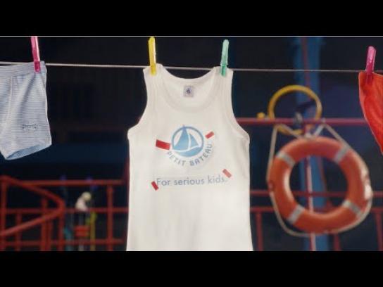 Petit Bateau Film Ad -  The Mini Factory