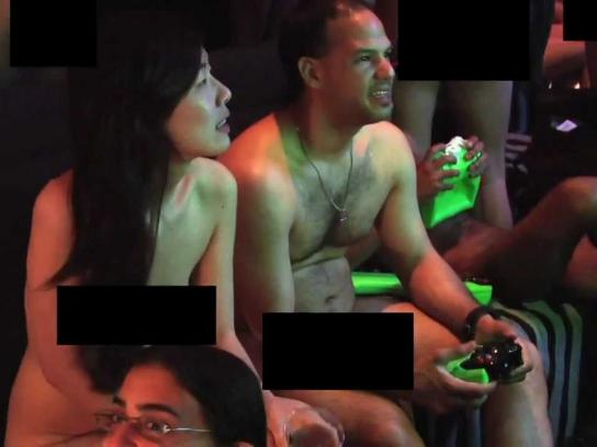 Xtendplay Film Ad -  Nude Gaming Party