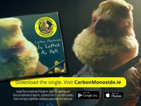 Gas Networks Ireland Digital Ad -  Carbon Monoxide Is Lethal As Hell
