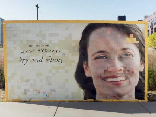 Burt's Bees Outdoor Ad -  A Natural Before & After