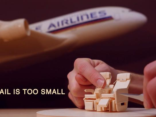Singapore Airlines Digital Ad -  No detail is too small