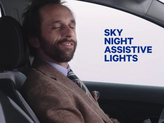 Dacia Film Ad - DACIA Unnecessories - Sky Night Assistive Lights