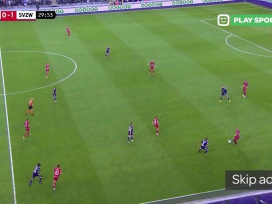 Play Sports Digital Ad - The Pre-Roll Football Match