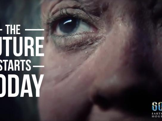 Earth Hour Digital Ad -  The future starts today
