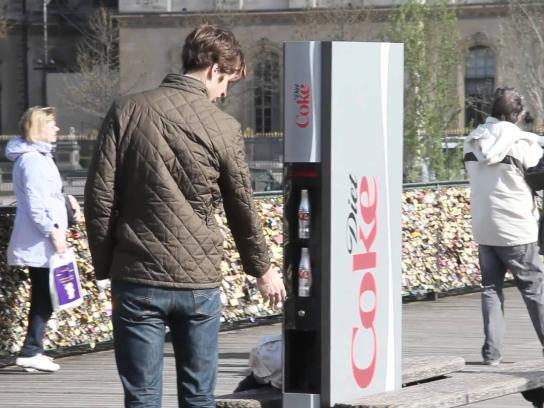 Diet Coke Outdoor Ad -  The Slender Vender