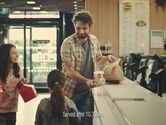 McDonald's Film Ad -  Just moved in