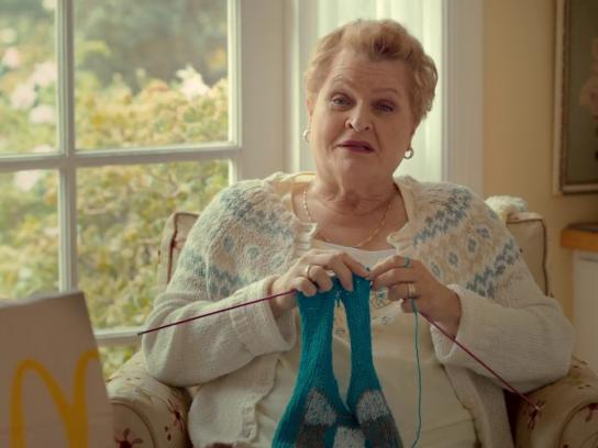 McDonald's Film Ad - Sweet & Spicy Grandma: Sweater