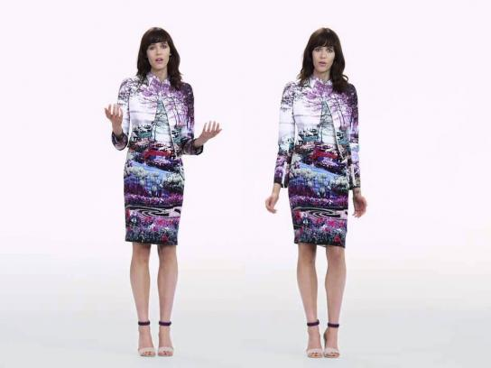 Mary Katrantzou Film Ad -  Poem