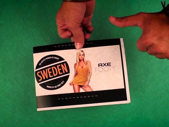 Axe Digital Ad -  Footy