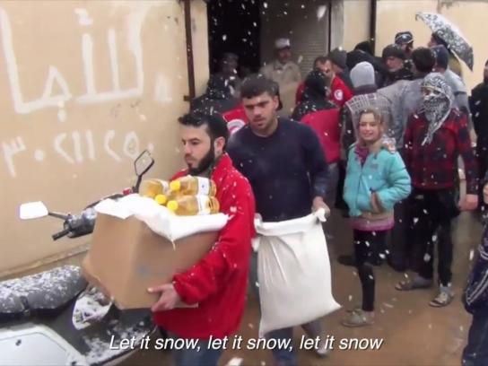 Red Cross Digital Ad -  Merry Christmas from Syria