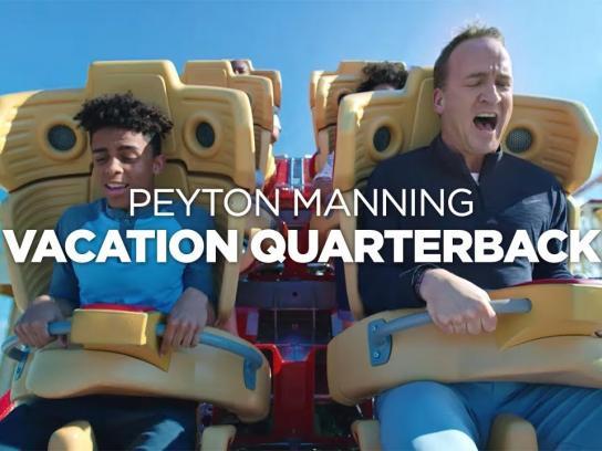 Universal Parks & Resorts Film Ad - Vacation Quarterback