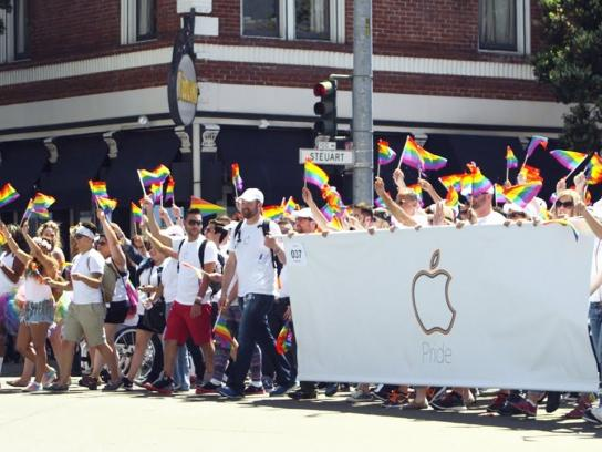 Apple Film Ad -  Pride