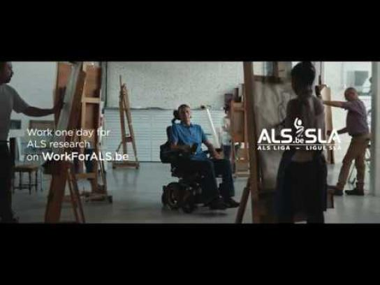 ALS League Film Ad - Work for ALS
