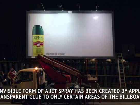 Orphea Outdoor Ad -  The billboard trap