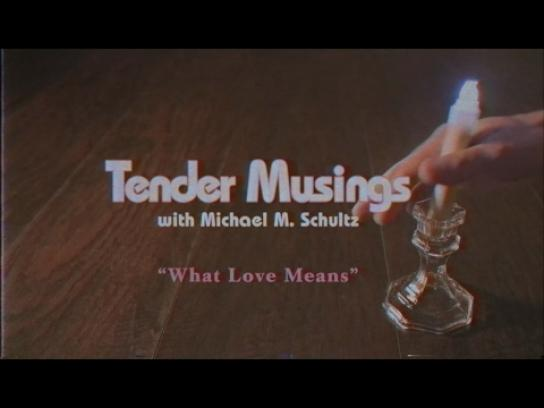 Barkley Film Ad - Tender Musings - What love means