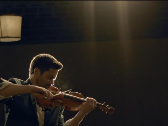 Nomad Film Ad -  Violinist
