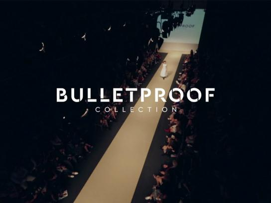 LIFWeek Ambient Ad - Bulletproof Collection