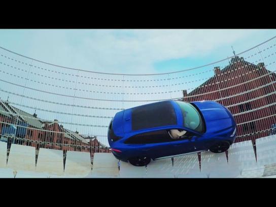 Jaguar Ambient Ad - Jaguar Musicdrome