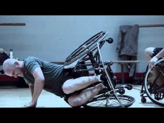 Guinness Film Ad -  Wheelchair basketball