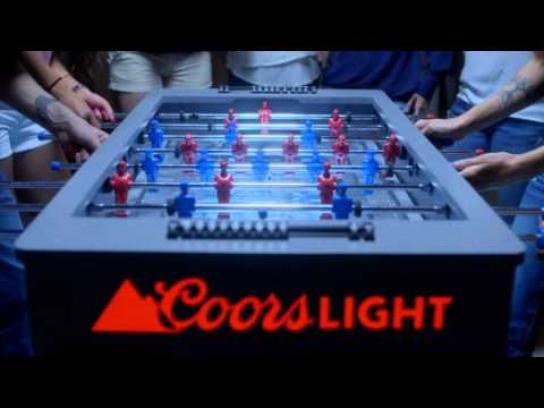 Coors Light Digital Ad -  Frozen Foosball