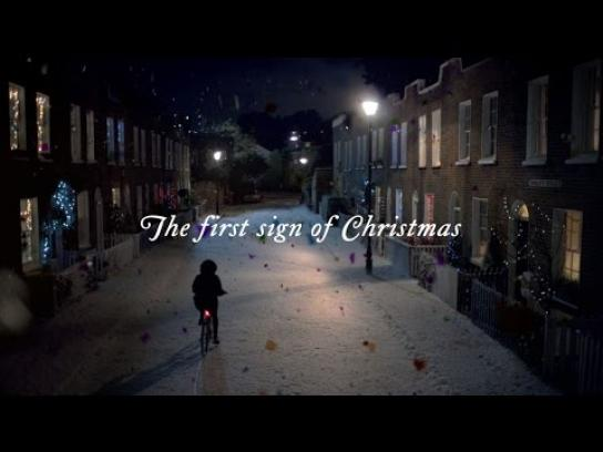 Quality Street Film Ad -  The first sign of Christmas