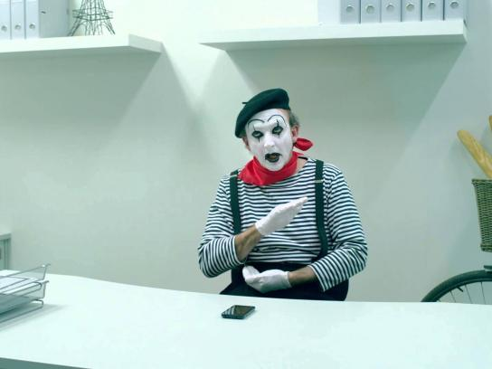 ALDImobile Film Ad -  Mime