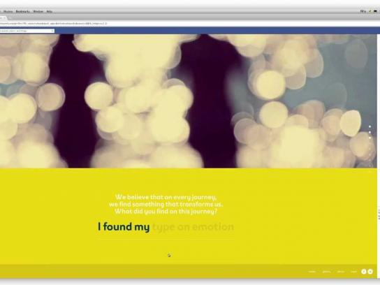 Expedia Digital Ad -  Find Your Story Application