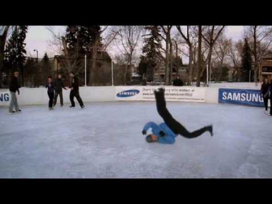 Samsung Digital Ad -  Epic beat boxing ice tricks