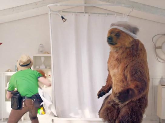 Energy Upgrade California Film Ad - Low flow showerheads