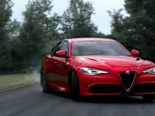 Alfa Romeo Film Ad - Riding Dragons