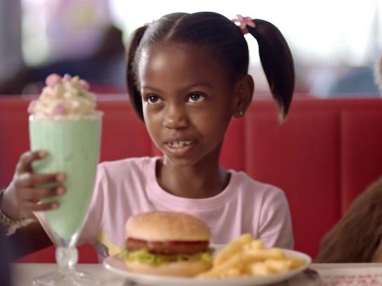 Wimpy Film Ad - Burger and Shake Combo