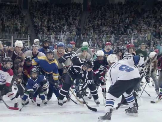 Tim Hortons Digital Ad -  Good Ol' Hockey Game featuring Sidney Crosby