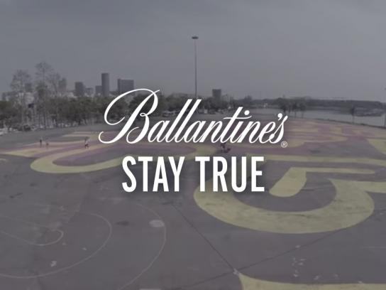 Ballantine's Digital Ad -  INSA's Space GIF-ITI