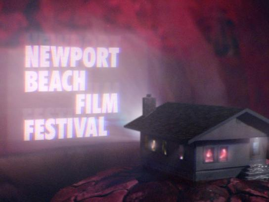 Newport Beach Film Festival Film Ad -  We're being watched