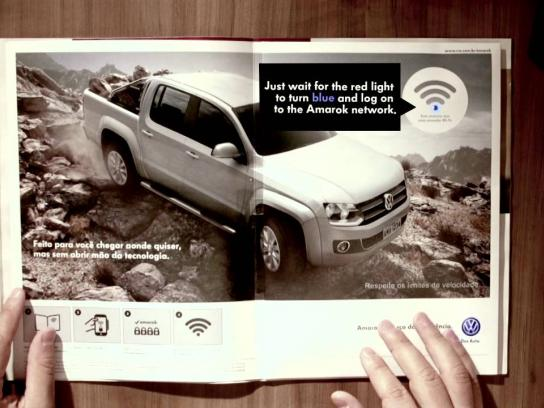 Volkswagen Print Ad -  Wi-Fi Ad