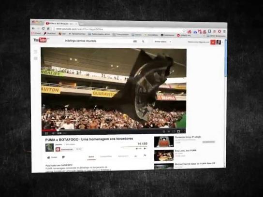 Puma Ambient Ad -  Fogometer, The Jersey of Diehard Fans