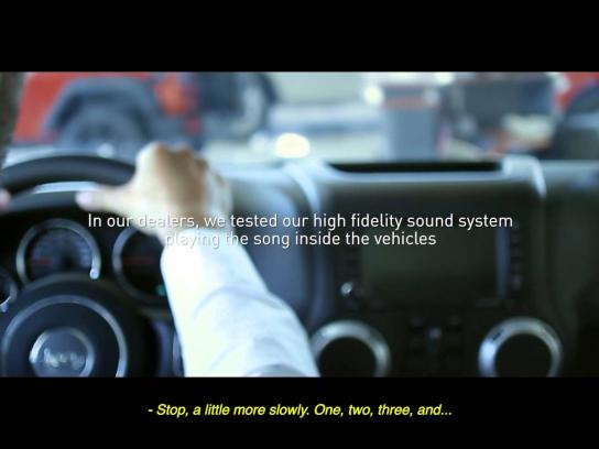 Jeep Digital Ad -  The landscape song