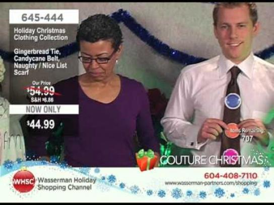 Wasserman Digital Ad -  The Wasserman Holiday Shopping Channel, Holiday Christmas Clothing Collection